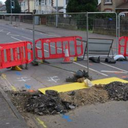 Picture Of Norwich`s Plumstead Road reopened to traffic after sinkhole