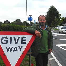 Picture Of End of road for Shropshire roundabout blamed for accidents