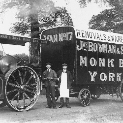 Picture Of Old photos: Furniture removal in York, 1900s-style